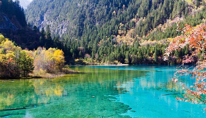 Çin - Jiuzhaigou Parkı