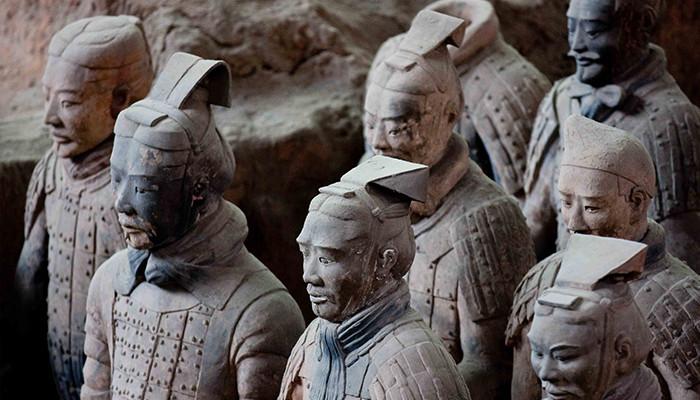 Çin - Terracota Askerleri