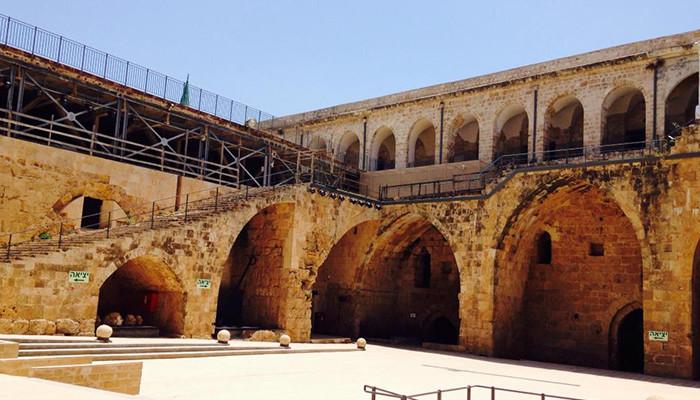İsrail - Haçlı Kalesi