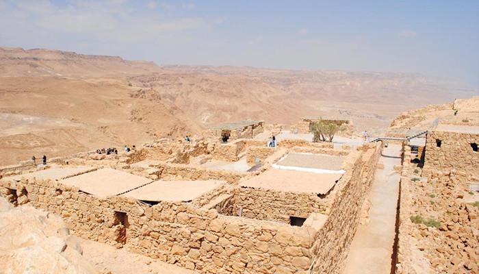 İsrail - Masada Kalesi