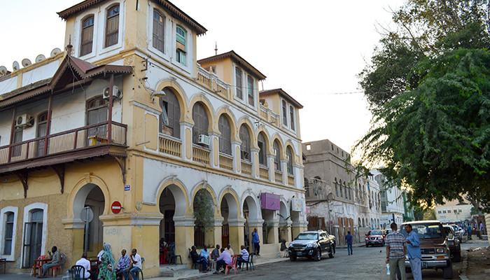 Cibuti - Menelik Sarayı