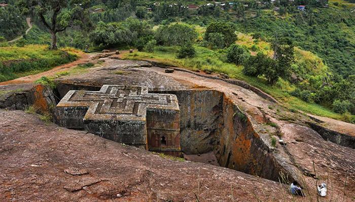 Etiyopya - Lalibela Kiliseleri