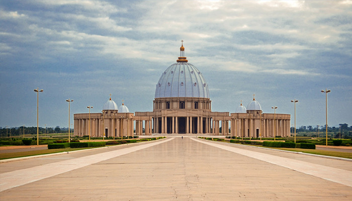 Fildişi - Meryem Ana'nın Bazilikası