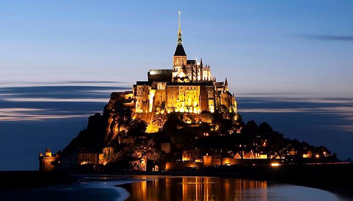 Fransa Vizesi - Mont Saint Michel Manastırı