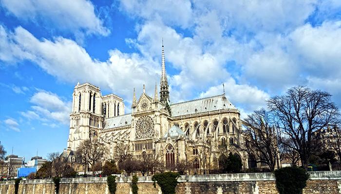 Fransa Vizesi - Notre Dame Katedrali