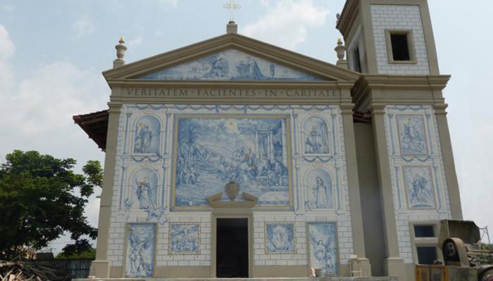 Gabon - Lourde Kilisesi