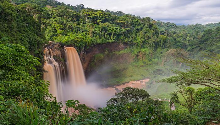 Kamerun - Ekom-Nkam Şelalesi