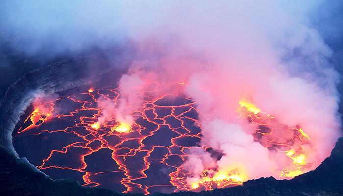 Kongo Demokratik - Nyiragongo Dağı