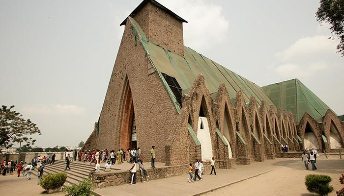 Kongo - Basilique St. Anne