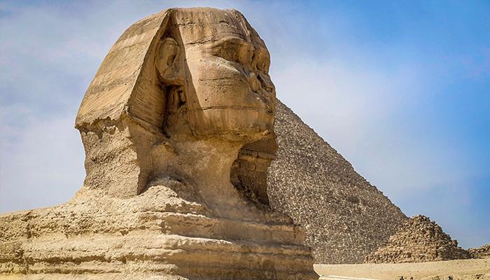 Mısır - Sfenks Heykeli