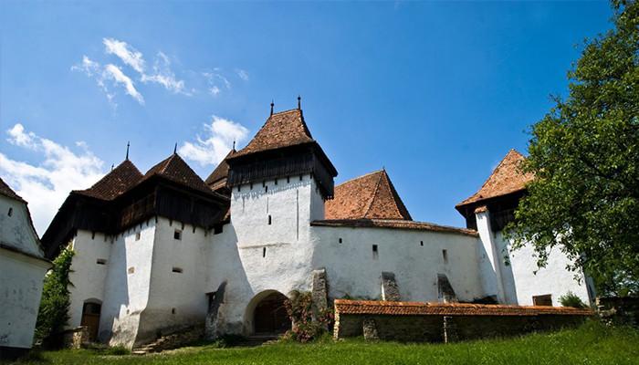 Romanya - Viscri-Fortified-Church