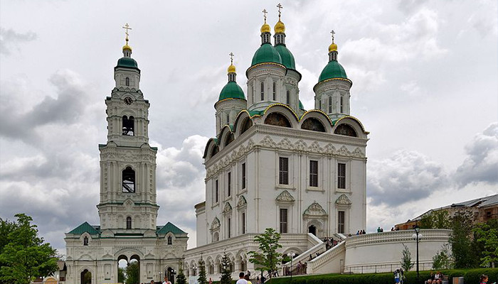 Rusya - Moskova - Astrakhan Kremlin