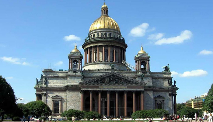 Rusya - Moskova - Aziz İshak Katedrali