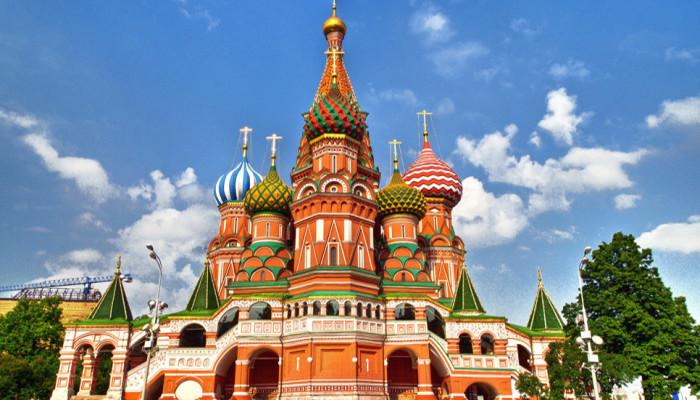 Rusya - Moskova - Aziz Basil Katedrali