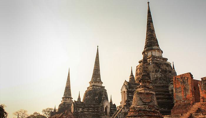 Tayland - Wat Phra Sri Sanphet Tapınağı