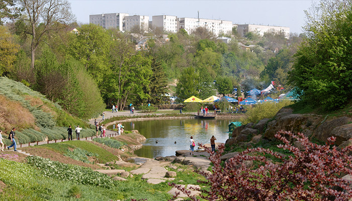 Ukrayna - Sofiyivka Parkı