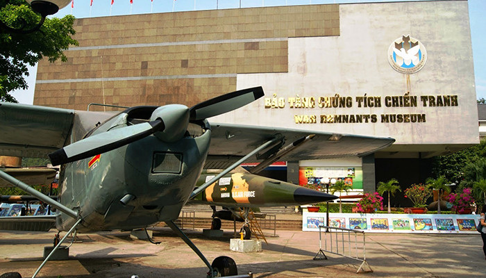 Vietnam - Savaş Kalıntıları Müzesi