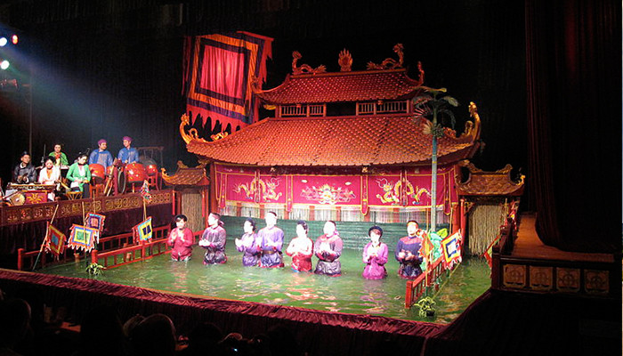 Vietnam - Thang Uzun Su Kukla Tiyatrosu